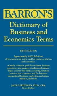 [해외]Dictionary of Business and Economics Terms