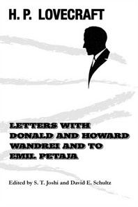 Letters with Donald and Howard Wandrei and to Emil Petaja