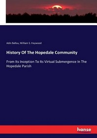 [해외]History Of The Hopedale Community (Paperback)