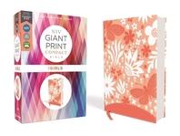 [해외]Niv, Giant Print Compact Bible for Girls, Leathersoft, Coral, Red Letter Edition, Comfort Print