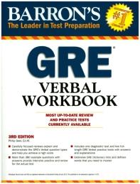 Barron's GRE Verbal Workbook,