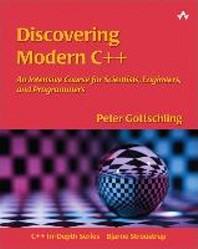 [해외]Discovering Modern C++ (Paperback)