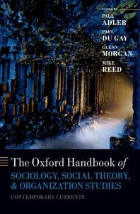 [해외]The Oxford Handbook of Sociology, Social Theory, and Organization Studies