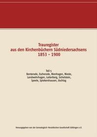 Trauregister aus den Kirchenbuechern Suedniedersachsens 1853 - 1900