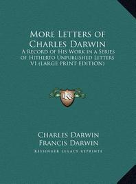 [해외]More Letters of Charles Darwin (Hardcover)