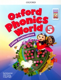 Oxford Phonics World: Level 5: Student Book with Reader e-Book Pack 5
