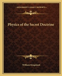 [해외]Physics of the Secret Doctrine