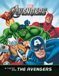 Avengers: These are The Avengers(Marvel)(CD1장포함)(양장본 HardCover)