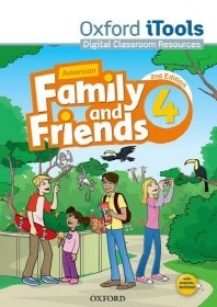 American Family and Friends 2E 4 iTools CD-ROM