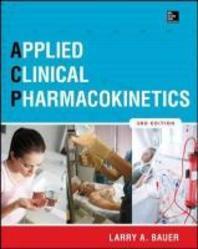 [해외]Applied Clinical Pharmacokinetics 3/E