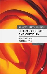 [해외]Literary Terms and Criticism