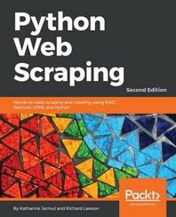 [보유]Python Web Scraping, Second Edition