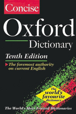 CONCISE OXFORD DICTIONARY 10/ED