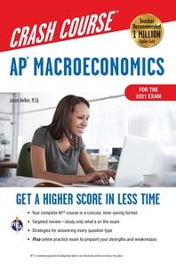 [해외]Ap(r) Macroeconomics Crash Course, for the 2021 Exam, Book + Online