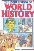 The Usborne Book of World History --- 약간헌책, 윗면 점변색