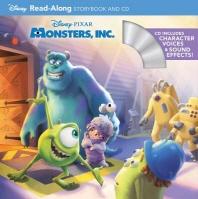 [해외]Monsters, Inc. Read-Along [With CD (Audio)]