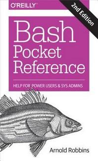 [해외]Bash Pocket Reference (Paperback)