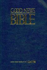 [해외]Large Print Bible-TEV