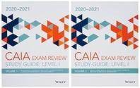 [해외]Wiley Study Guide for 2020-2021 Level I Caia Exam (Paperback)
