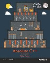 Absolute C++(Global Edition)