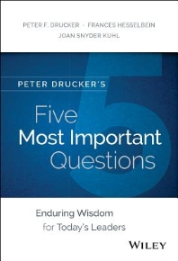 [보유]Peter Drucker's Five Most Important Questions