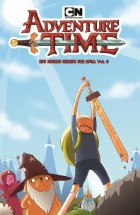 핀과 제이크의 어드벤처 타임 코믹스. 5