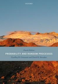 [해외]Probability and Random Processes