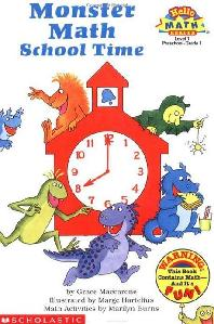 Monster Math School Time(A Math Reader)(Hello Reader Level 1)