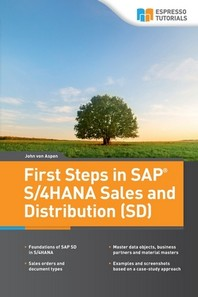 [해외]First Steps in SAP(R) S/4HANA Sales and Distribution (SD)
