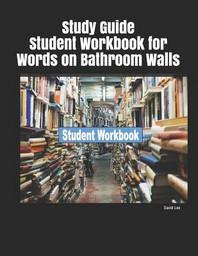 [해외]Study Guide Student Workbook for Words on Bathroom Walls (Paperback)