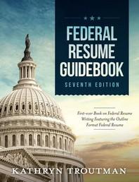 [해외]Federal Resume Guidebook