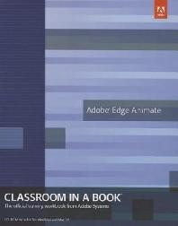 [해외]Adobe Edge Animate Classroom in a Book [With CDROM] (Paperback)