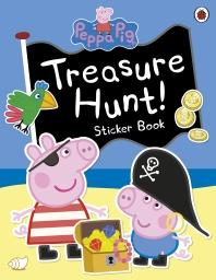 [해외]Peppa Pig: Treasure Hunt! Sticker Book