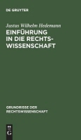 [해외]Einfhrung in Die Rechtswissenschaft (Hardcover)