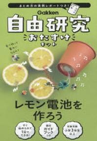自由硏究おたすけキット レモン電池を作ろ