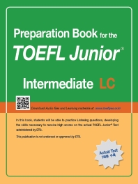 TOEFL Junior Test LC: Intermediate(Preparation Book for the)(CD1장포함)