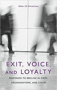 [해외]Exit, Voice, and Loyalty