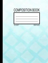 [해외]100 Sheet Wide Ruled Composition Book