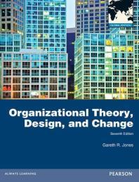 Organizational Theory Design and Change 7/E (Paperback)