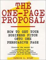 One-Page Proposal
