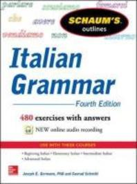 [해외]Schaum's Outline of Italian Grammar, 4th Edition