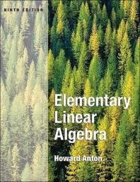 Elementary Linear Algebra -테두리 연한 변색/뒷쪽 일부 물얼룩 조금외 낙서없이 깨끗합니다