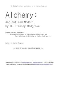 알키미 연금술 Alchemy