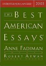 Best American Essays 2003  /영어판 / 앤 패디먼