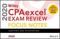 [해외]Wiley Cpaexcel Exam Review 2020 Focus Notes (Paperback)