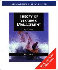 Theory of Strategic Management 8/e