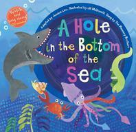 [해외]A Hole in the Bottom of the Sea [With Audio CD] (Hardcover)