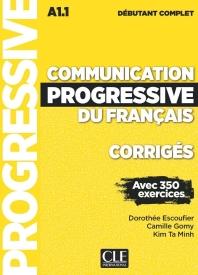 [해외]Communication progressive du francais. Niveau debutant complet. Corriges