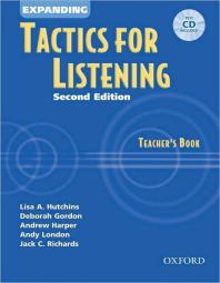 Expanding Tactics for Listening Teachers Book 2/E(with CD)