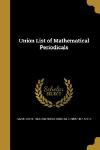 Union List of Mathematical Periodicals